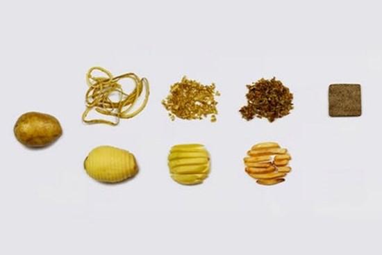 Patates Kabuklarından Çevre Dostu Yapı Malzemesi