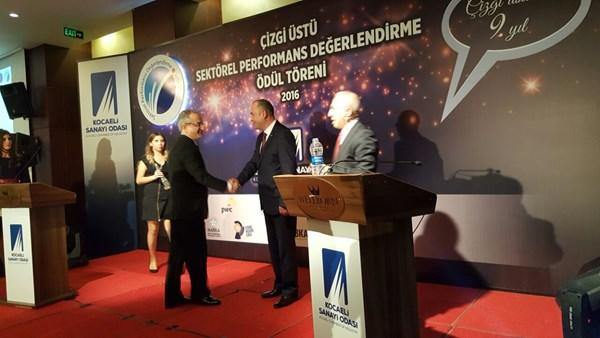 AKG Gazbeton, Sektörel Performans Ödülü'ne Layık Görüldü