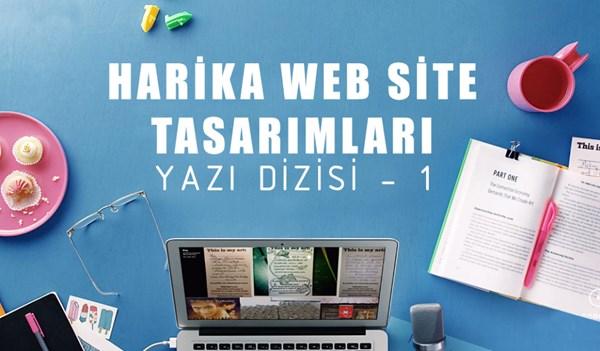 Harika Web Site Tasarımları - I