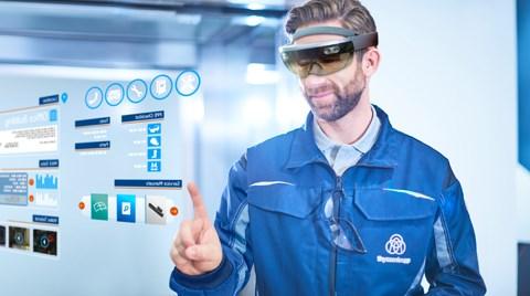 Thyssenkrupp'tan Özel HoloLens Uygulamaları