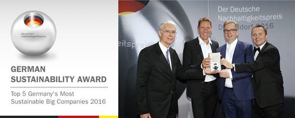 GROHE, Alman Sürdürülebilirlik Ödülleri'nde İlk Üçte