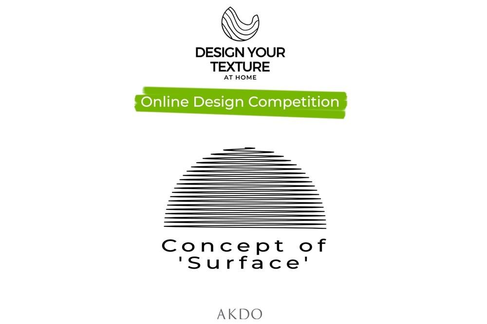 'DESIGN YOUR TEXTURE AT HOME' Online Tasarım Yarışması