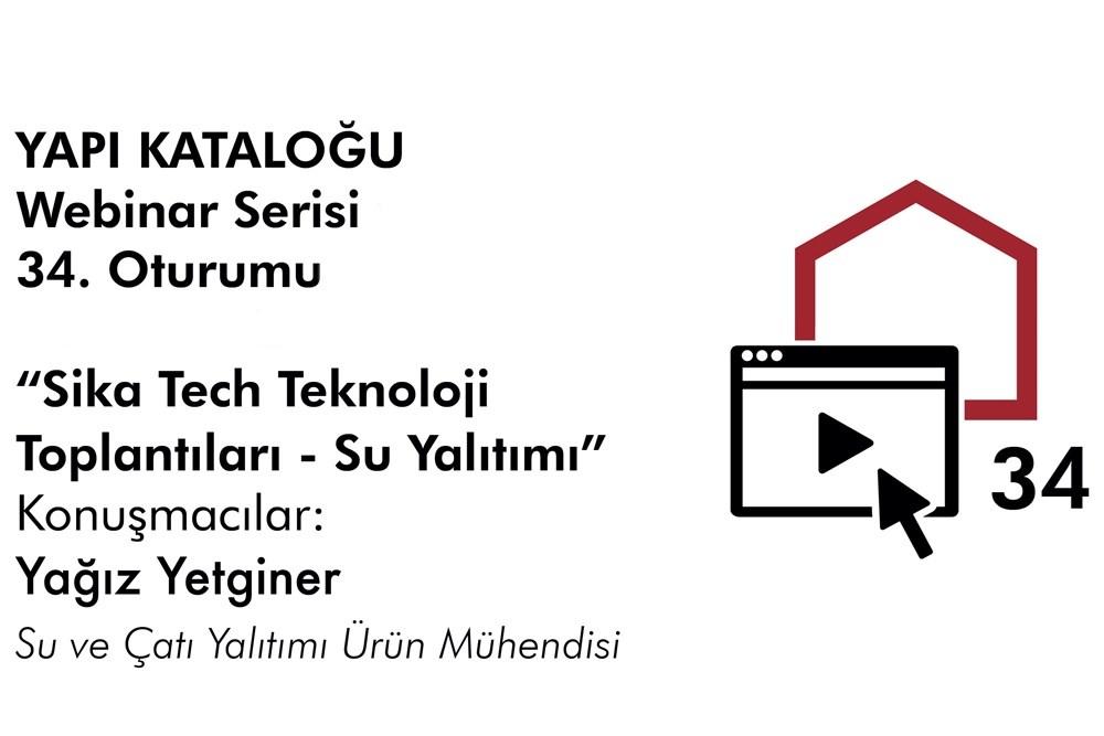 Yapı Kataloğu Webinarları -34- Sika Türkiye