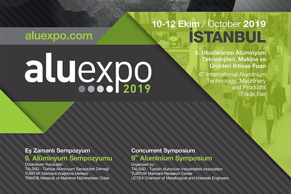ALUEXPO 2019 – 6. Uluslararası  Aluminyum Teknolojileri, Makina ve Ürünleri İhtisas Fuarı