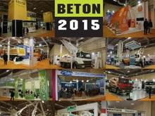 BETON ANKARA 2016 8. Hazır Beton, Çimento, Agrega, İnşaat Teknolojileri ve Ekipmanları Fuarı