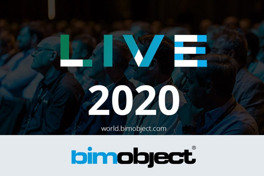 BIMobject LIVE 2020
