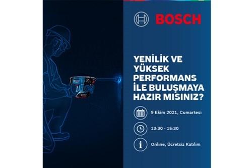 Bosch Profesyonel Elektrikli El Aletleri Online Etkinlik