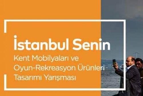 İstanbul Senin | Kent Mobilyaları ve Oyun-Rekreasyon Ürünleri Tasarımı Yarışması