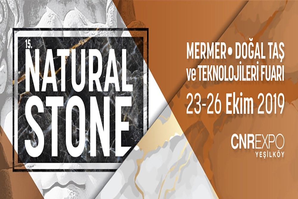 Natural Stone -15. Uluslararası Doğal Taş, Mermer Teknolojileri Fuarı