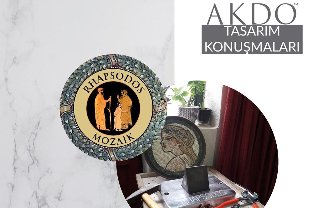 AKDO Tasarım Konferansları | Emine Özkaya Daloğlu (Rhapsodos Mozaik)