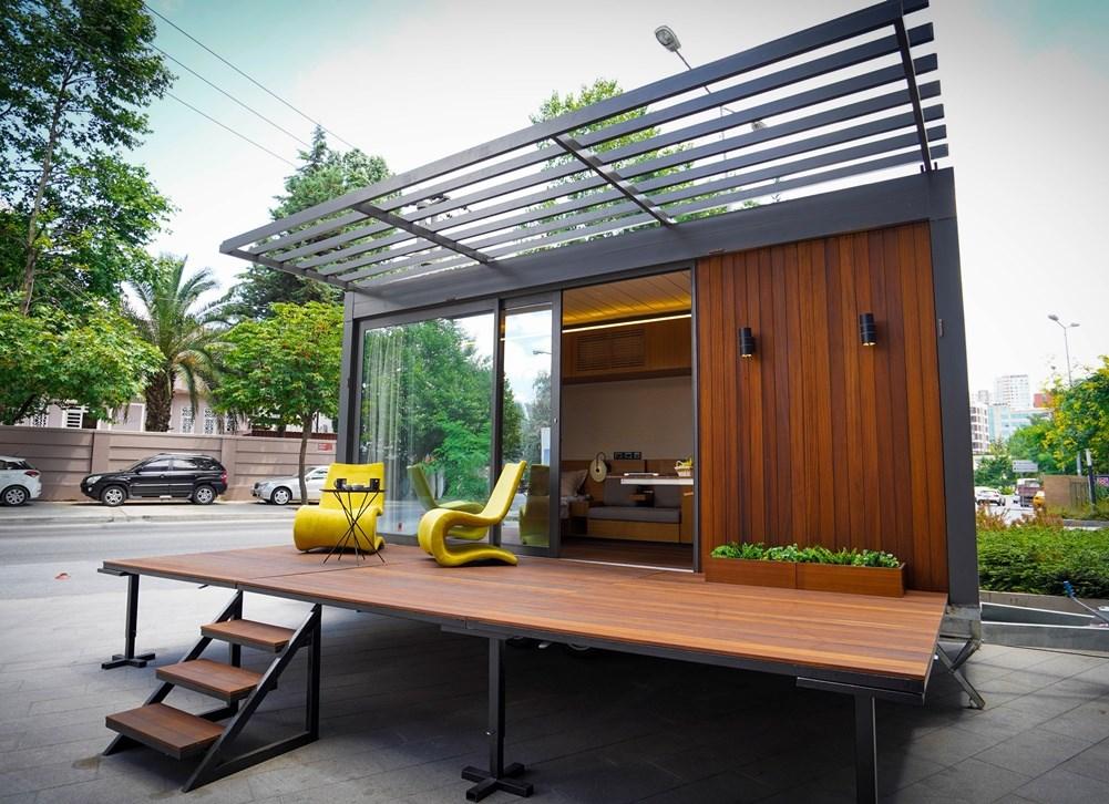 """Dinamik Şehir Hayatına Keyifli Bir Alternatif: """"Luxial Mobil Ev"""""""