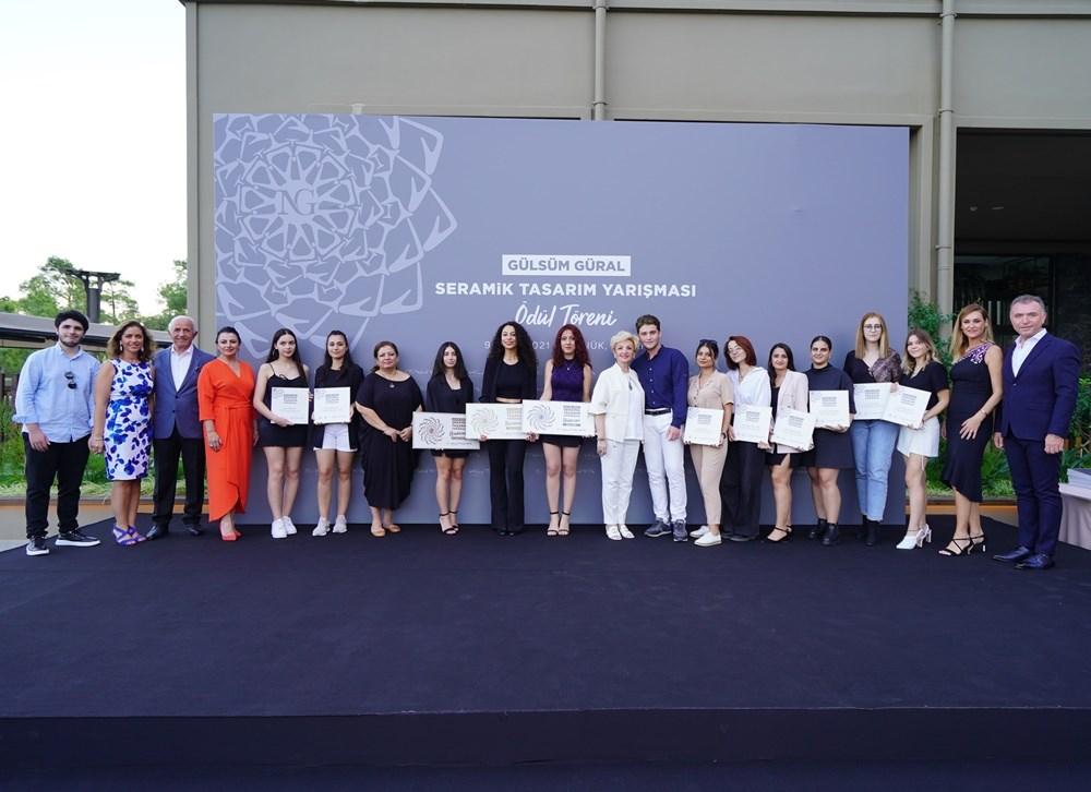 """NG Kütahya Seramik """"Gülsüm Güral Seramik Tasarım Yarışması Ödülleri"""" Mimarlar Haftası'nda Sahiplerini Buldu"""
