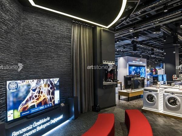The New Generation Arçelik Store Has Taken Form With Artstone