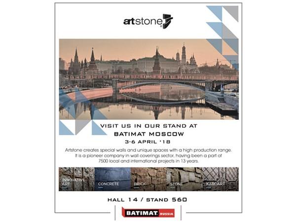 Artstone Batımat Rusya 2018 Fuarı'nda Yerini Alıyor