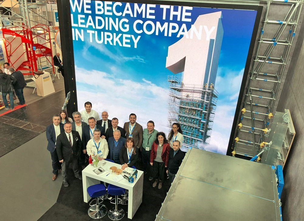 URTİM Had the Opportunity to Present Its New Products at BAUMA