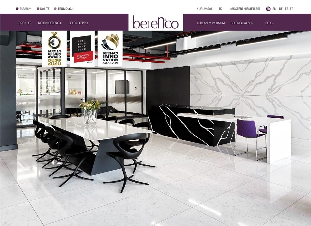 Belenco Web Sitesi Yeni Arayüzü, Yeni İçeriği ve 5 Dil Seçeneği ile Yayında!