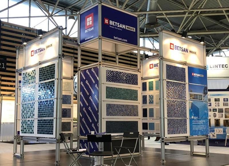 Betsan Mosaix Ürünleri Piscine Global Europe 2018 Fuarında Büyük İlgi Gördü