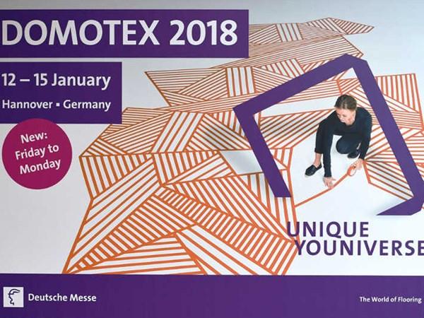 Net Plastik Domotex 2018'deydi!