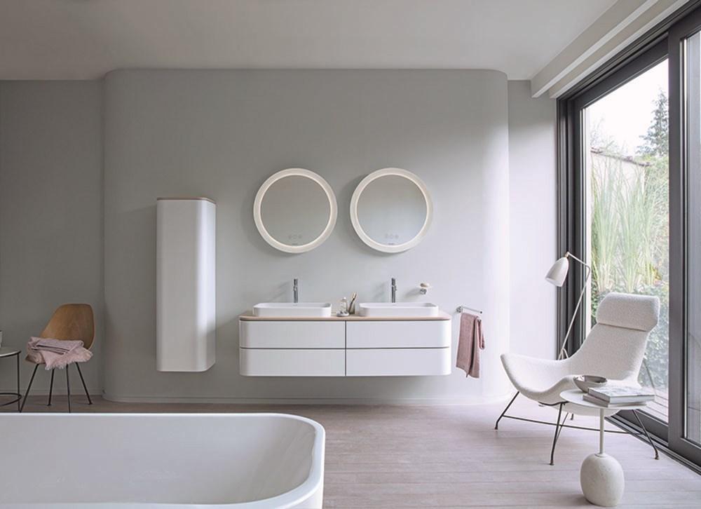 Duravit'in Happy D.2 Plus Banyo Serisi, En Yeni Tasarım Trendlerini Bir Araya Getiriyor