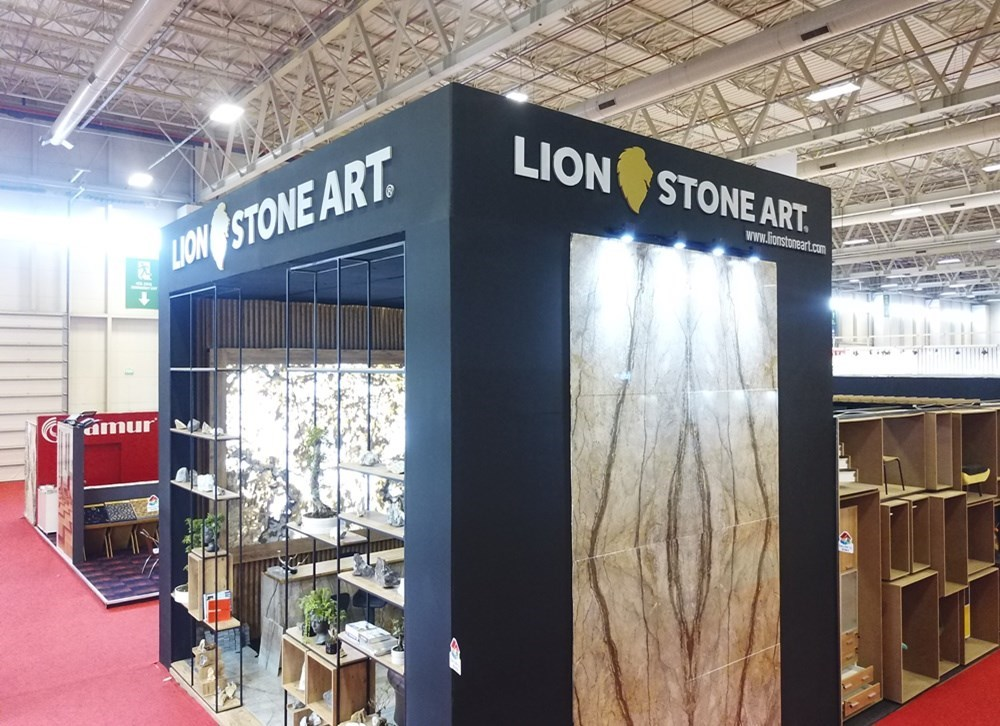 Lion Stone Art's Award Winning Stand is Exhibited in İzmir