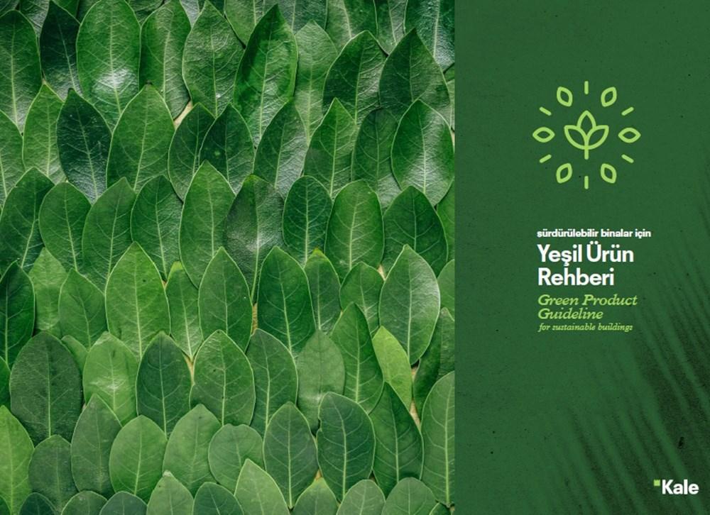 Kaleseramik Yeşil Ürün Rehberi Yayımlandı