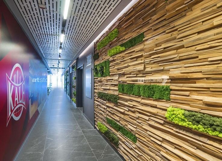 Artstone Signature on Kale Kilit Headquarters' Extraordinary Surfaces