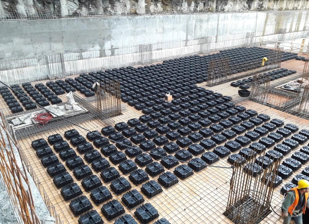 ABS Yapı'dan 2018 Deprem Yönetmeliğine Uygun Yeni Ürün: Volimax Boşluklu Döşeme Sistemi