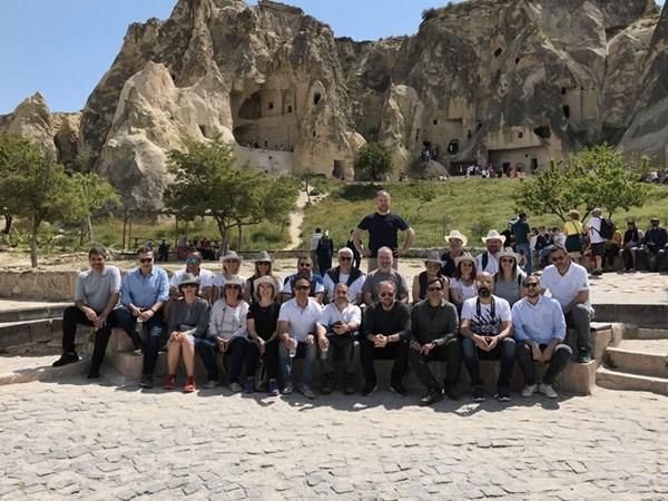 Yaktaş, Mimarlar ile Bu Kez Kapadokya`daydı!