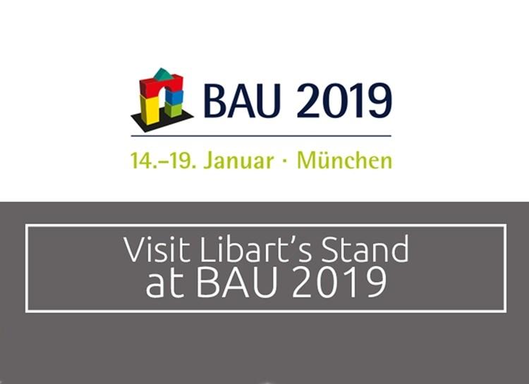 Libart 14-19 Ocak'ta Düzenlenen BAU'ya Katılıyor