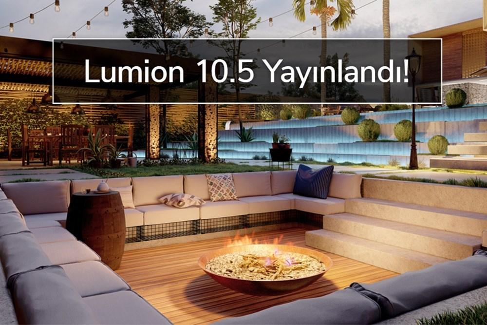 Lumion 10.5 Yayınlandı!