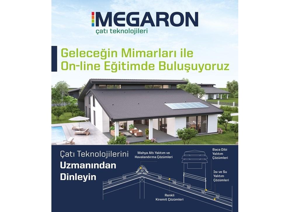 Megaron Çatı Teknolojileri Geleceğin Mimarları ile Buluşuyor