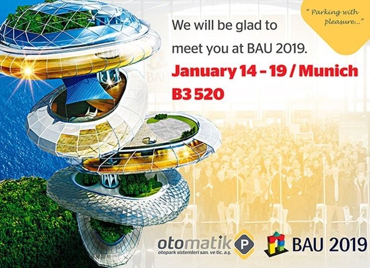 PARKOLAY 14-19 Ocak 2019'da BAU 2019 Münih'e Katılacak