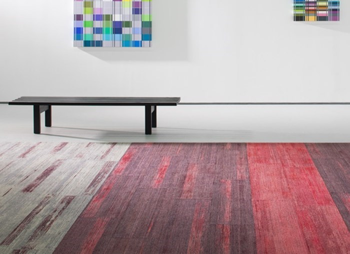 Innovative Color and Dimensions on the Floor: Color Compositions