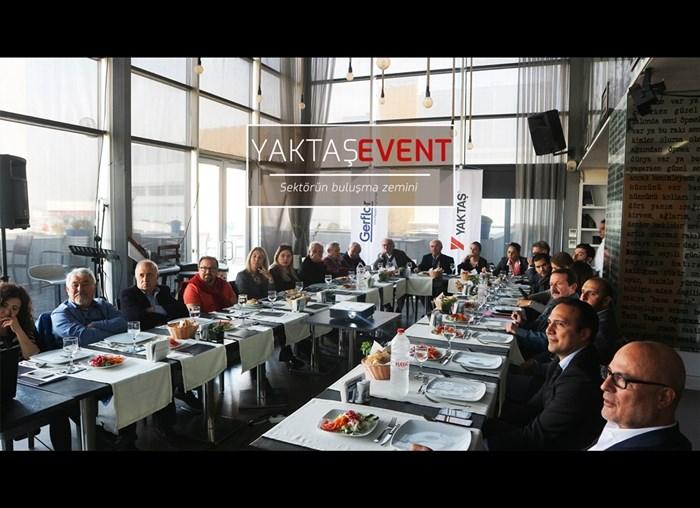 Yaktaş, Türk Serbest Mimarlar Derneği'ndeydi!