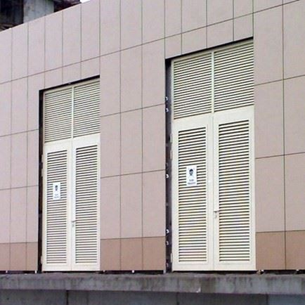 Transformer and Generator Room Doors