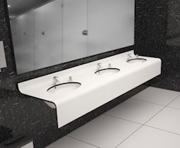 Kompakt Laminat Banyo Tezgahı
