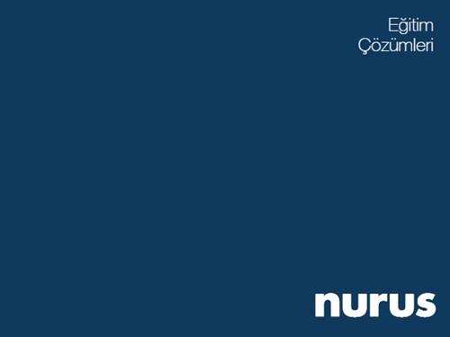 Nurus Eğitim Çözümleri Kataloğu