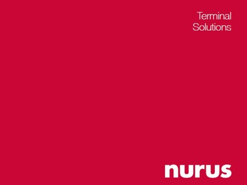 Nurus Terminal Çözümleri Kataloğu