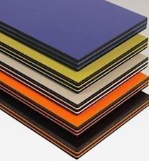 Farklı Renk Katmanlı Kompakt Laminat Panel