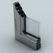Alüminyum Pencere Sistemleri/WD 55 THERMO