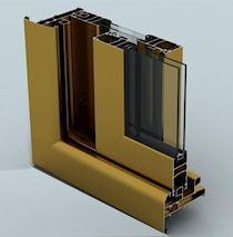 Yalıtımsız Sürme Kapı ve Pencere Sistemleri/CS 34