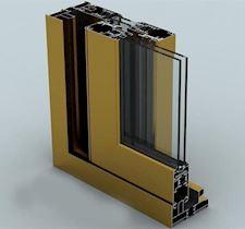 Kapı ve Pencere Sürme Sistemi/S 38 THERMO