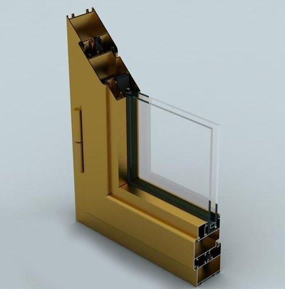Yalıtımsız Kapı ve Pencere Sistemleri/WD 55