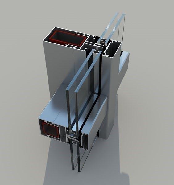 Alüminyum Pencere, Kapı ve Giydirme Cephe Sistemleri/FS 65