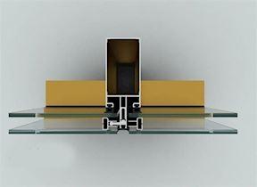 Alüminyum Giydirme Cephe Sistemleri/FS 50