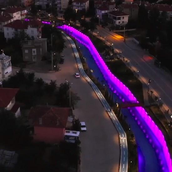 Korkuteli Kanal Işıklandırması