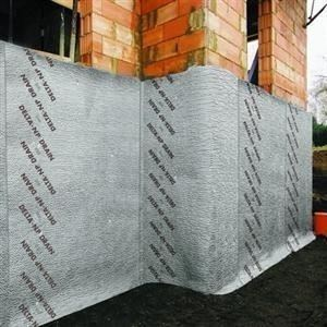 HDPE Geocomposite Protection and Drainage Board