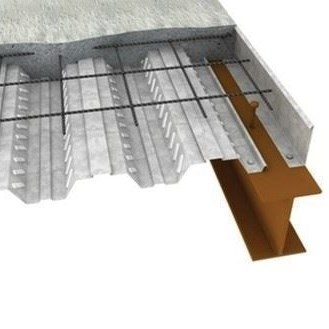 Corrugated metal Floor Decking