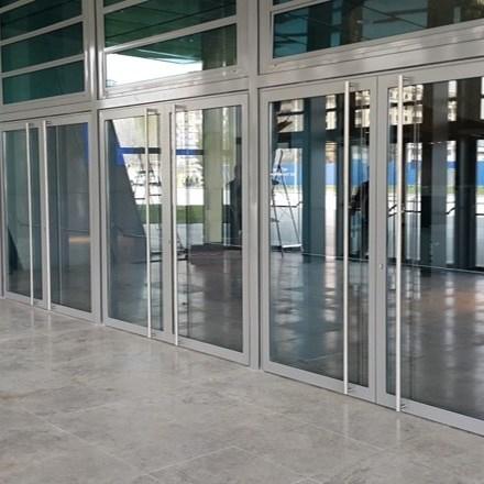 Paslanmaz Çelik ve Çelik Profiller ile Kapılar ve Cepheler - 2