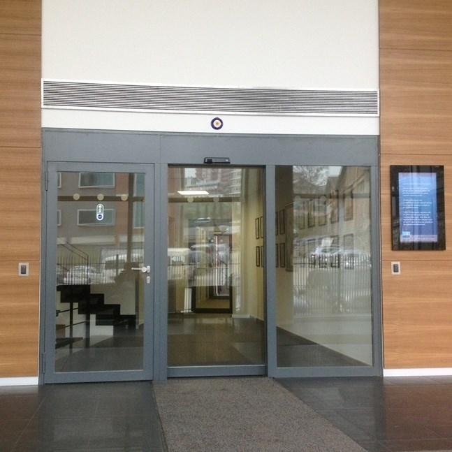 Fire Resistant Glass Automatic Sliding Doors - 0